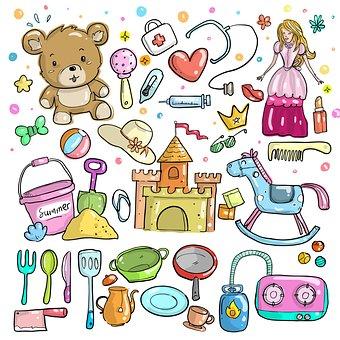 I bambini: giochi e giocattoli